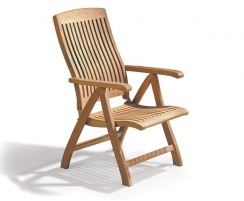 Bali Reclining Garden Chair, Teak