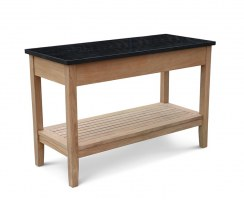 Aria Outdoor Console Table with Drawers, Garden Sideboard