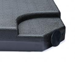 Four-Piece HDPE Concrete Filled Cantilever Parasol Base – 100kg