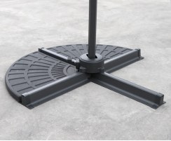 Concrete Cantilever Parasol Base Weights – Set of 2