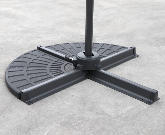 Concrete Cantilever Parasol Base Weights Set Of 2 Jpg