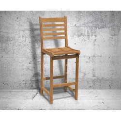 bar stool with back