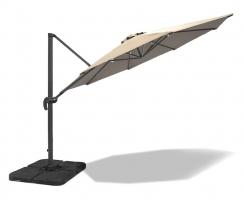 3m Cantilever Garden Parasol – Umbra®, premium