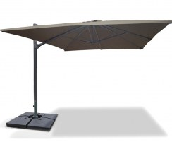 3 x 4m Large Rectangular Cantilever Parasol – Umbra®