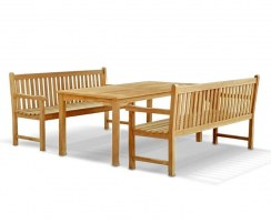 Sandringham Table and Benches Set