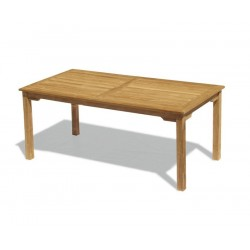 Sandringham Teak Outdoor Table, Rectangular – 1.8m