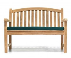 traditional outdoor bench