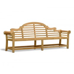 Extra-Large Teak Lutyens Bench – 2.7m