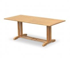 Belgrave Rectangular Teak Garden Table - 2m