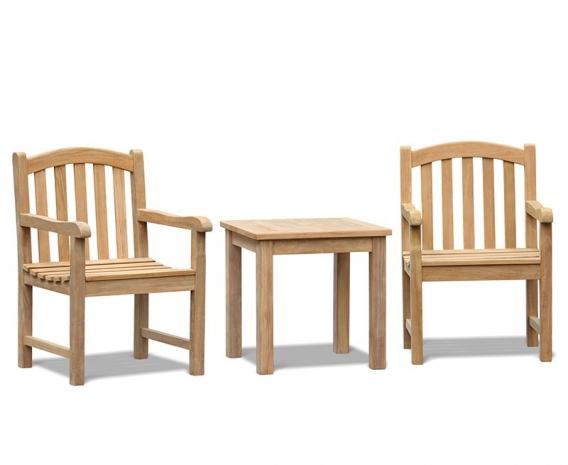 Clivedon Teak 2 Seater Garden Set