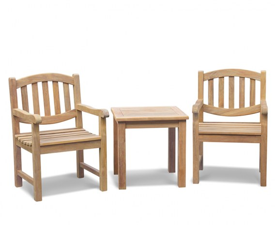 Ascot Teak 2 Seater Garden Set