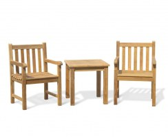 Windsor Teak Conversation Set