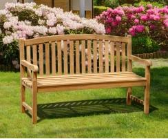 Outstanding Clivedon 3 Seater Garden Bench Teak 1 5M Lamtechconsult Wood Chair Design Ideas Lamtechconsultcom