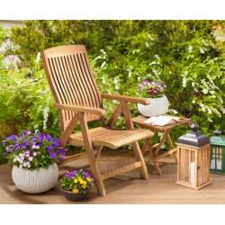Bali Reclining Garden Chair, Teak