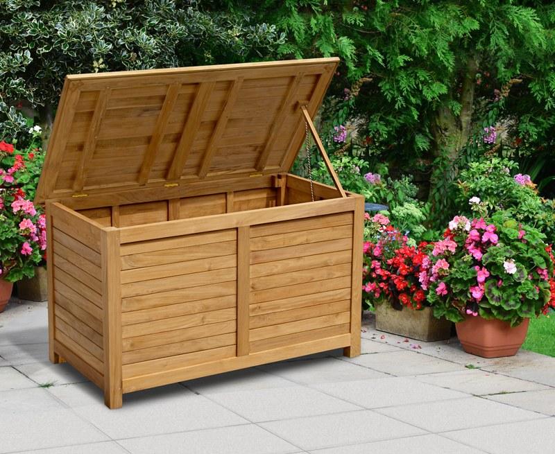 Teak Garden Storage Chest