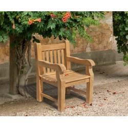 robust chunky garden chair