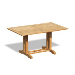 Belgrave Rectangular Teak Garden Table – 1.5m