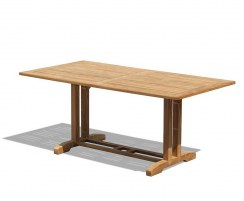 Belgrave Rectangular Teak Garden Table – 1.8m