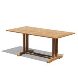 Belgrave Rectangular Teak Garden Table – 1.8m