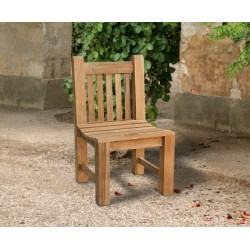 robust chunky garden chair