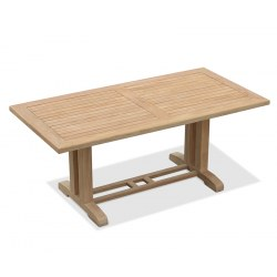 Cadogan Rectangular Teak Garden Table – 1.8m