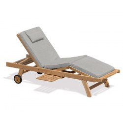 Luxury Garden Sun Lounger Cushion