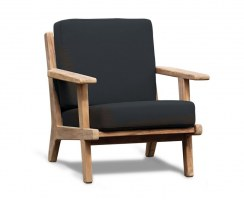 Eero Mid-Century Deep Seated Teak Garden Armchair