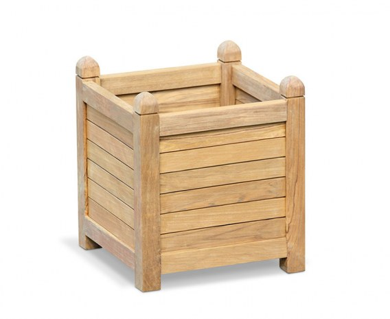 Zen Large Garden Planter, Teak Wood