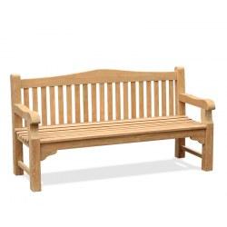 Buckingham Teak Garden Bench – 1.8m