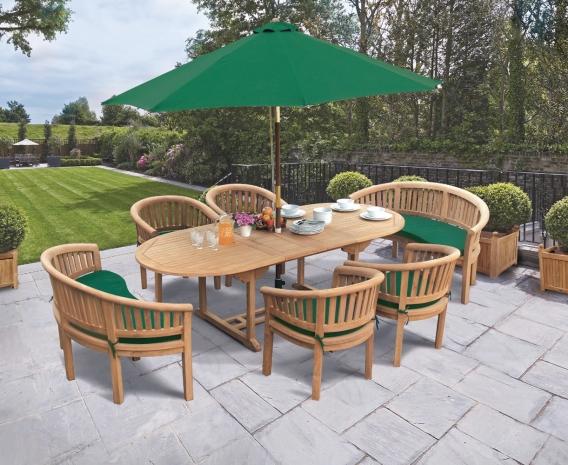 Magnificent Wimbledon Teak Garden Dining Furniture Set Cjindustries Chair Design For Home Cjindustriesco