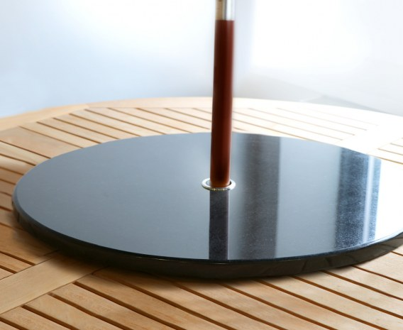 Lazy Susan, Black Granite – 0.8m