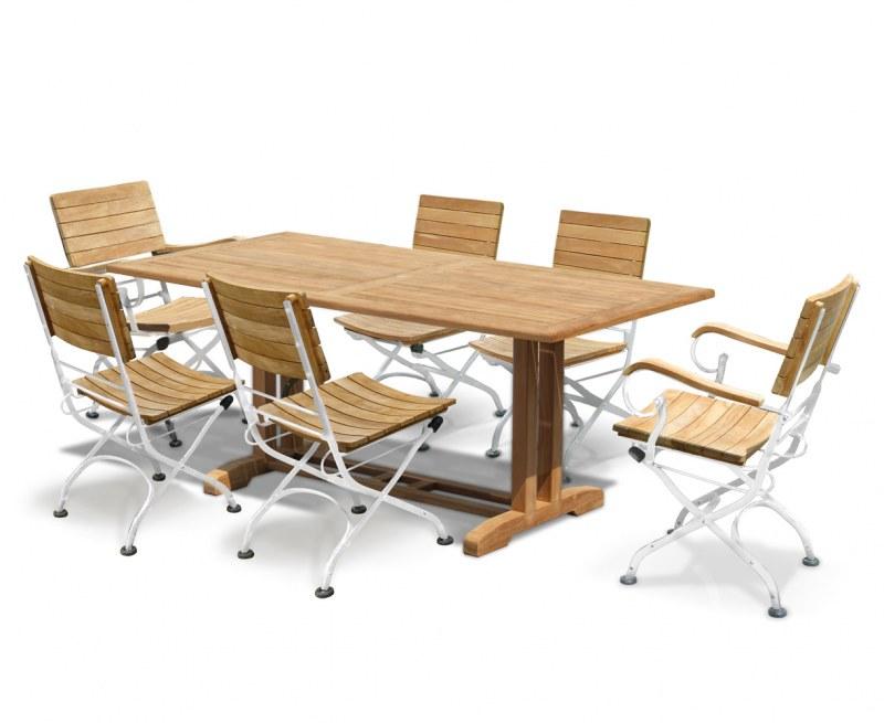 Belgrave 6 Seater Pedestal Table 1 8m Amp Bistro Folding