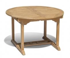 Brompton Teak Extending Table - Closed