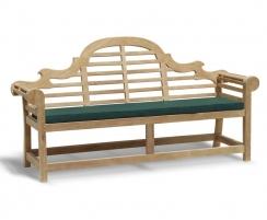 Lutyens-style garden bench
