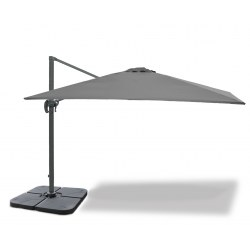 Large Rectangular Cantilever Parasol with cover, 3 x 4m – Umbra®