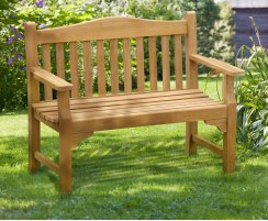 4ft commemorative bench