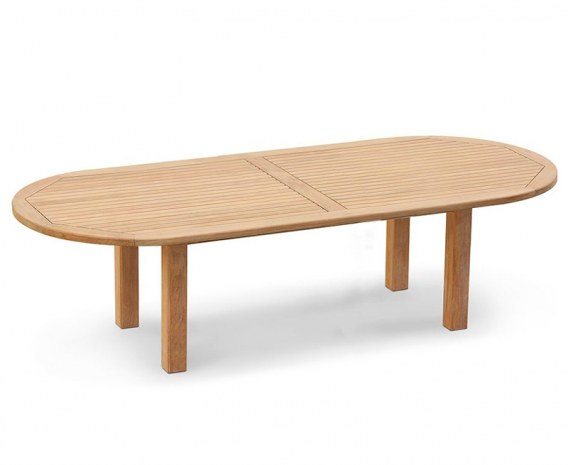 Titan Chunky Oval Garden Table – 1.2 x 3m
