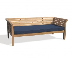 Outdoor Daybed Mattress Cushion – 2m - Navy Blue