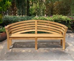 Salisbury Teak Hardwood Garden Bench – 1.95m