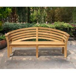 Salisbury Teak Hardwood Garden Bench – 2m