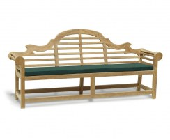 Teak Wooden Lutyens Garden Bench Seat  – 2.25m
