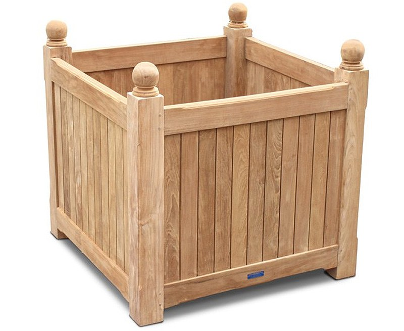 Bespoke Planter, Teak Wooden Garden Planter – Grand