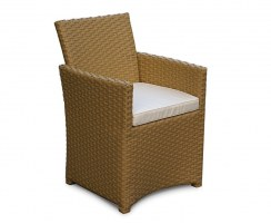Eclipse Garden Chair Cushion - Ecru/Natural