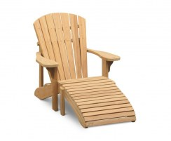 New England Teak Adirondack Chair