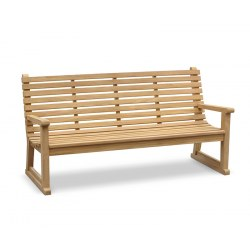 Primrose Sled Park Bench - 1.8m