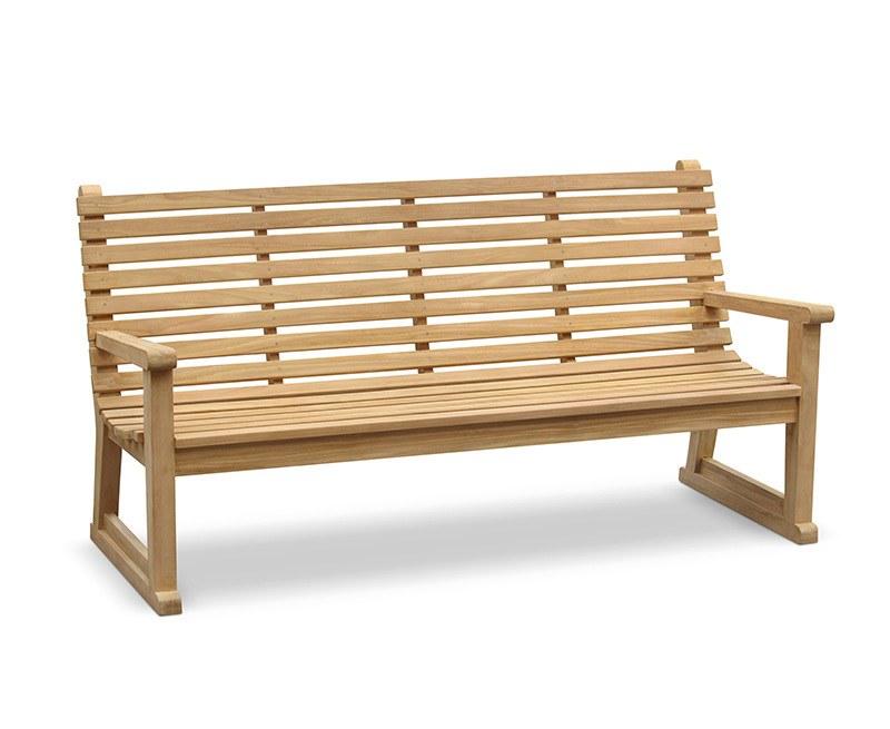 Primrose Sled Park Bench 1 8m