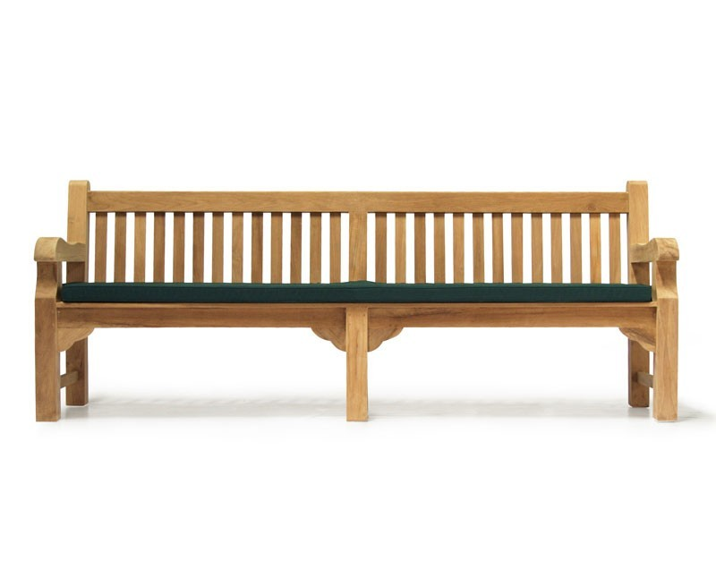 teak park bench