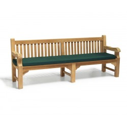 2.4m heavy duty garden bench