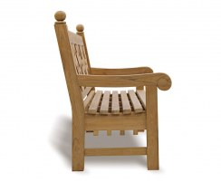 teak 4 seater outdoor bench