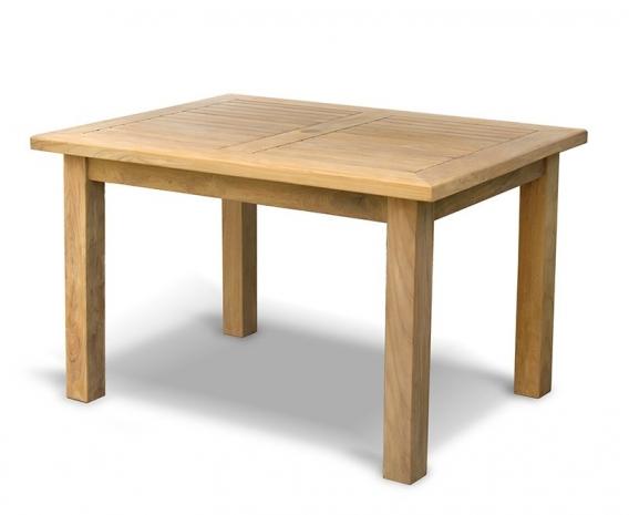 Balmoral Rectangular Teak Garden Table – 1.2m